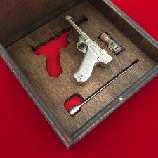 2mm pinfire gun Luger
