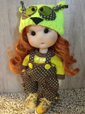 "Unique handmade Doll ""Olivia"""