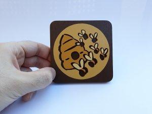 Handmade Insect Swarm Bioshock Plasmid coaster