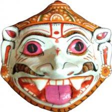 Papier Mache Mask of Goddess Laxmi