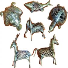 A Set of Docra Figurines