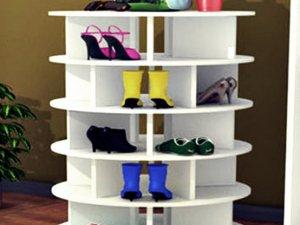 Spinning Shoe Rack Revolving Shoe Tower Rotating Shoe Rack Shoe Storage Rack