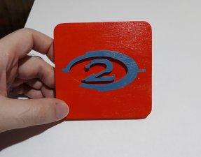 Handmade Halo 2 coaster