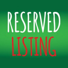 Reserved listing for thekristofferson