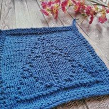 dishcloths knit, handmade dishcloths, Deathly Hallows dishcloths