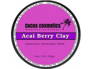 Acai berry Antioxidant mask   Acai Clay detox mask   Anti aging mask   Clay facial mask   Organic Acai Berry Mask for face
