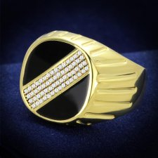 Gold 925 Sterling Silver Ring