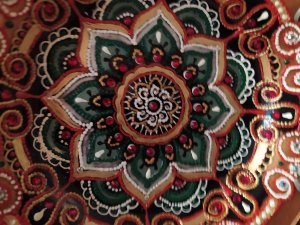 decorative plate rhinestones decor