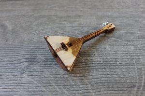 Balalaika - 1/12 scale - TOY miniature copy - miniature replica
