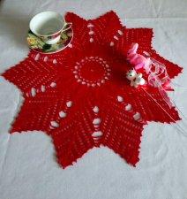 A serviette is a stocking star