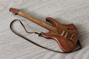 Bass guitar - TOY miniature replica - present