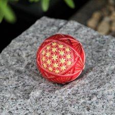 Hanging decoration Temari Christmas ball [petal basket] Traditional crafts gift,home decoration,festival gift