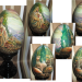 """Easter- Nativity - Painting on the egg (in a circle) / From Greg Olsen's favorite painting """"O Jerusalem!"""""""