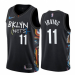 Men's Brooklyn Nets #11 Kyrie Irving Black The City Edition Jersey