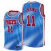 Men's Brooklyn Nets #11 Kyrie Irving Hardwood Classic Blue Jersey